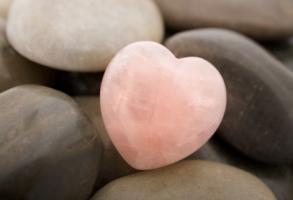 Pink quartz