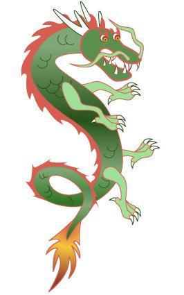 Clip Art Chinese Dragon Clipart chinese dragon clip art vertcal