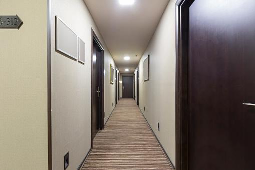 Apartment corridor interior