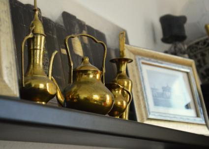 Metal elements for decoration