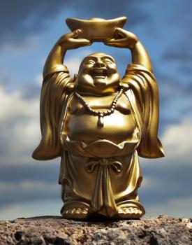 Standing Happy Buddha
