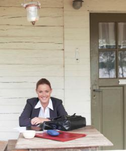 country cottage office