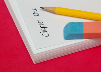Starting to write a novel; copyright Xdrew at Dreamstime.com