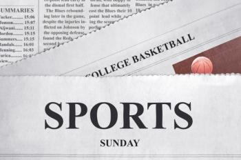 Sports section