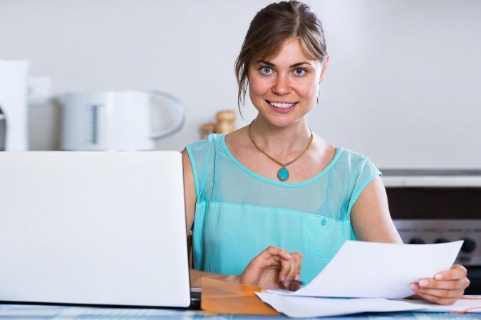 Girl applying for grant