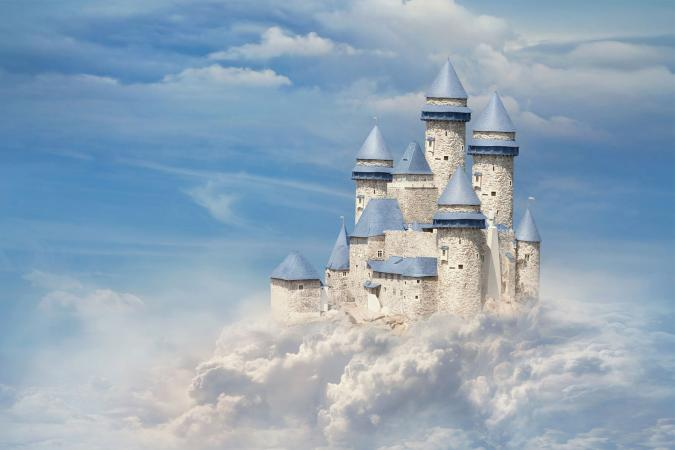 Castle in the clouds