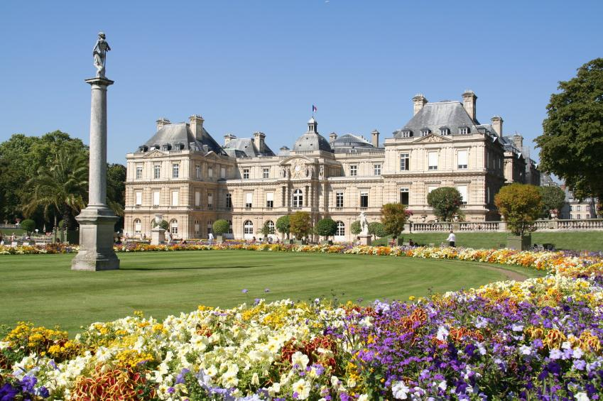 Romantic places in france slideshow for Jardin du luxembourg