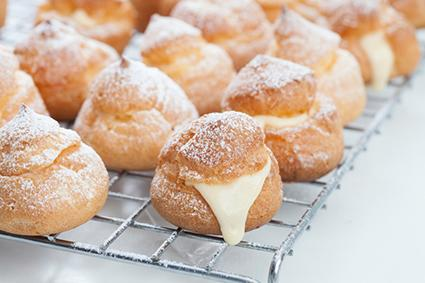 Bavarian Cream Puffs
