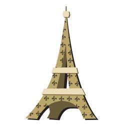Eiffel Tower Clipart 1