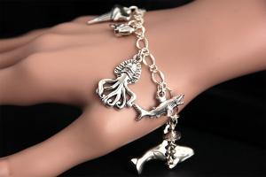 Sea Predator Bracelet by Etsy Seller GatheringCharms