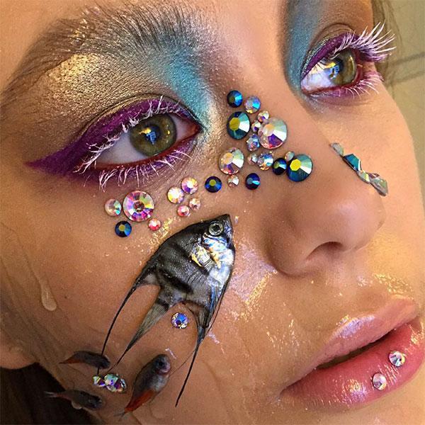 Makeup with Fish