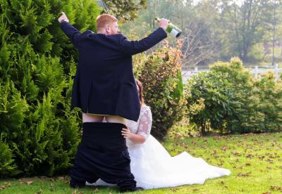 sexy wedding photo by Matthew Hodgson