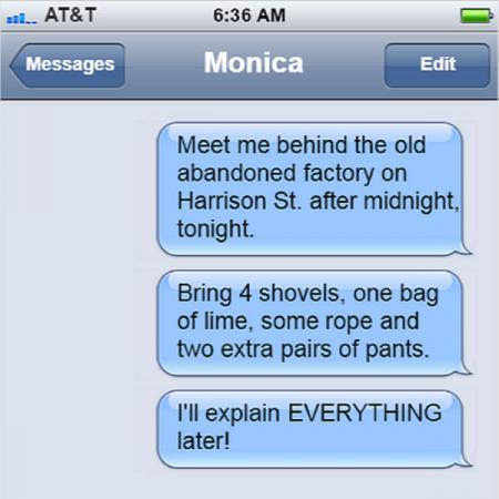 Friend text 1