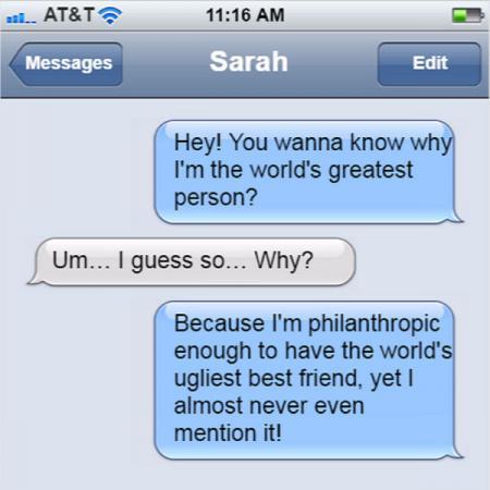Friend text 2