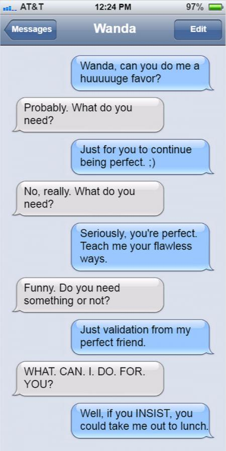 Friend text 3