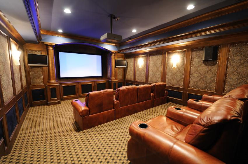 Furniture Ideas For A Media Room Slideshow