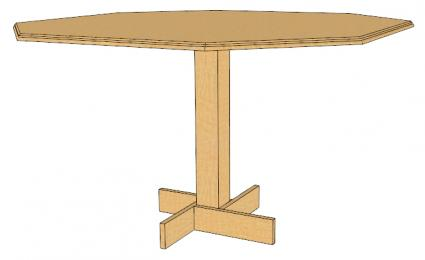 octagonal dining table plans – furnitureplans