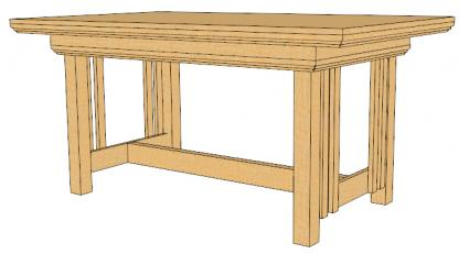 Rectangular Dining Table Plans Room