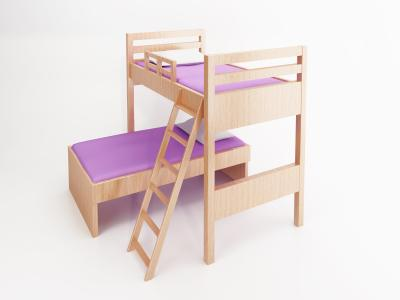 Useful bunk bed free woodworking plans workbench dream for L shaped bed plans