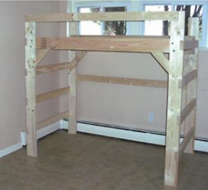 The Manhattan Solid Wood Loft Bed