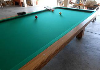 9 Foot, Solid Oak Carom Table made by Golden West from Billiard Wholesale