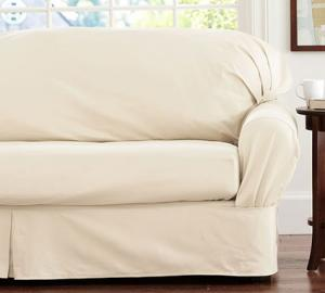 Loose Fit Twill Cushion Slipcover & Replacement Sofa Cushion Covers | LoveToKnow pillowsntoast.com