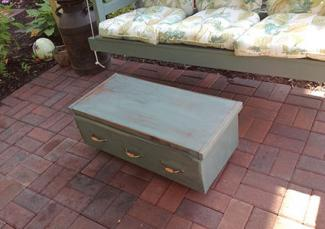 Bureau Upcycled as Coffee Table