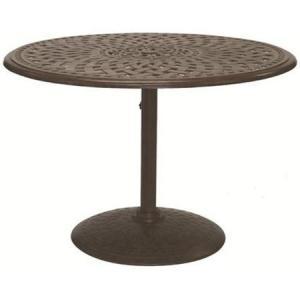 Darlee 42 inch Round Pedestal Bistro Table