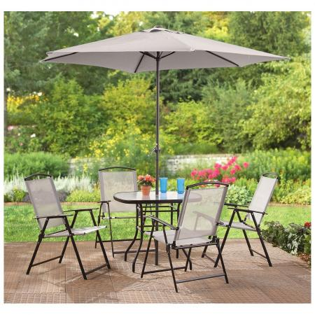 CASTLECREEK Complete Patio Dining Set