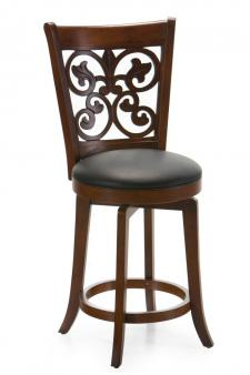 Bonaire 24 in. Swivel Counter Stool