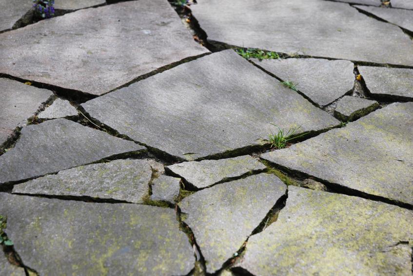 Flat Rock Stone : Types of landscape rock slideshow