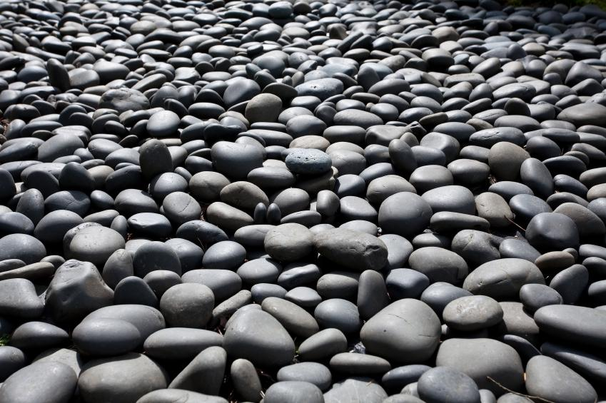 Types of landscape rock slideshow for What are river stones