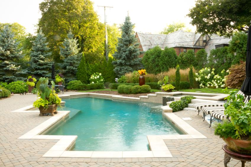 Modern landscape design examples slideshow for Garden design ideas ontario