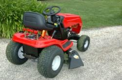 Red Riding Mower