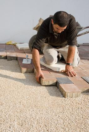 A paving project.