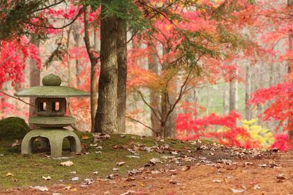 Stone Japanese lantern