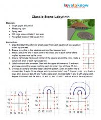 Classic stone instructions