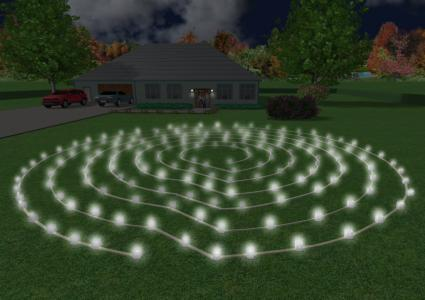Luminary labyrinth