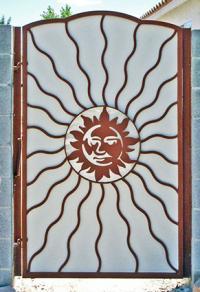 Wrought Iron Garden Gates Lovetoknow