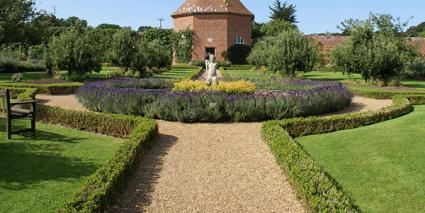 Garden Design Rectangular Plot formal garden design