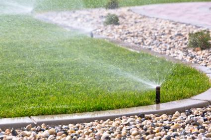 Basics of lawn sprinkler system design lovetoknow for Home garden irrigation design