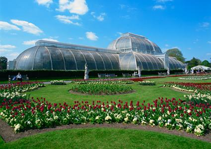 Palm House of Kew Gardens in London, England