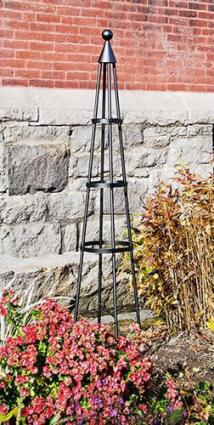 Achla Wrought Iron Garden Obelisk