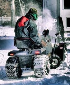 garden tractor attachment