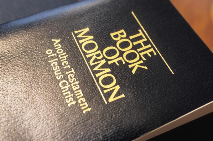 Book of Mormon book cover