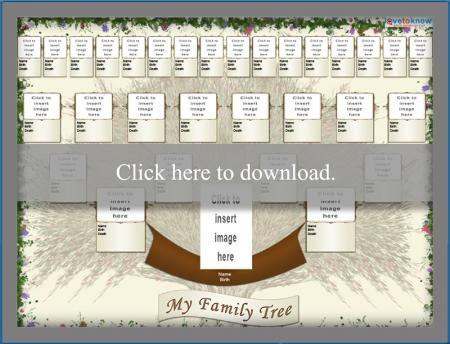 Photo family tree thumbnail