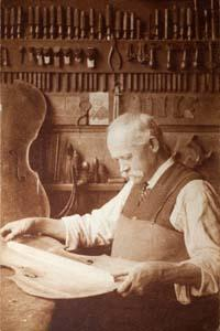The first Luthiers were makers of stringed instruments.