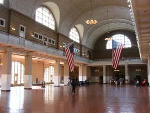 Ellis Island Entry Hall