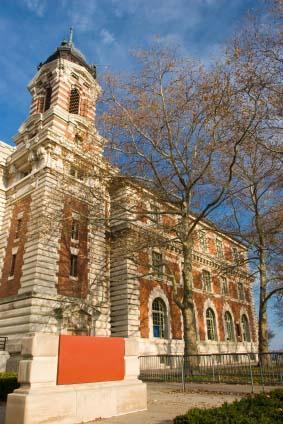 Ellis Island Great Hall Building