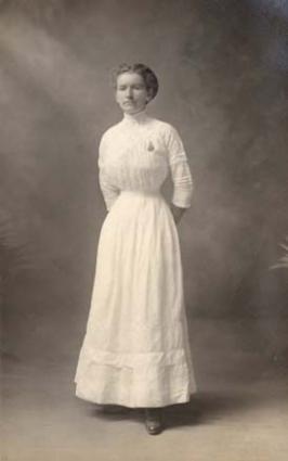 Victorian White Dress